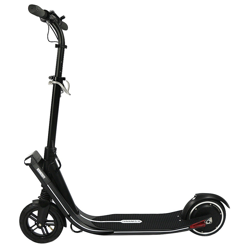 Eswing ESKICK Folding Electric Scooter 250W Motor 8 Inches Solid Rear Anti-Skid Tire - Black