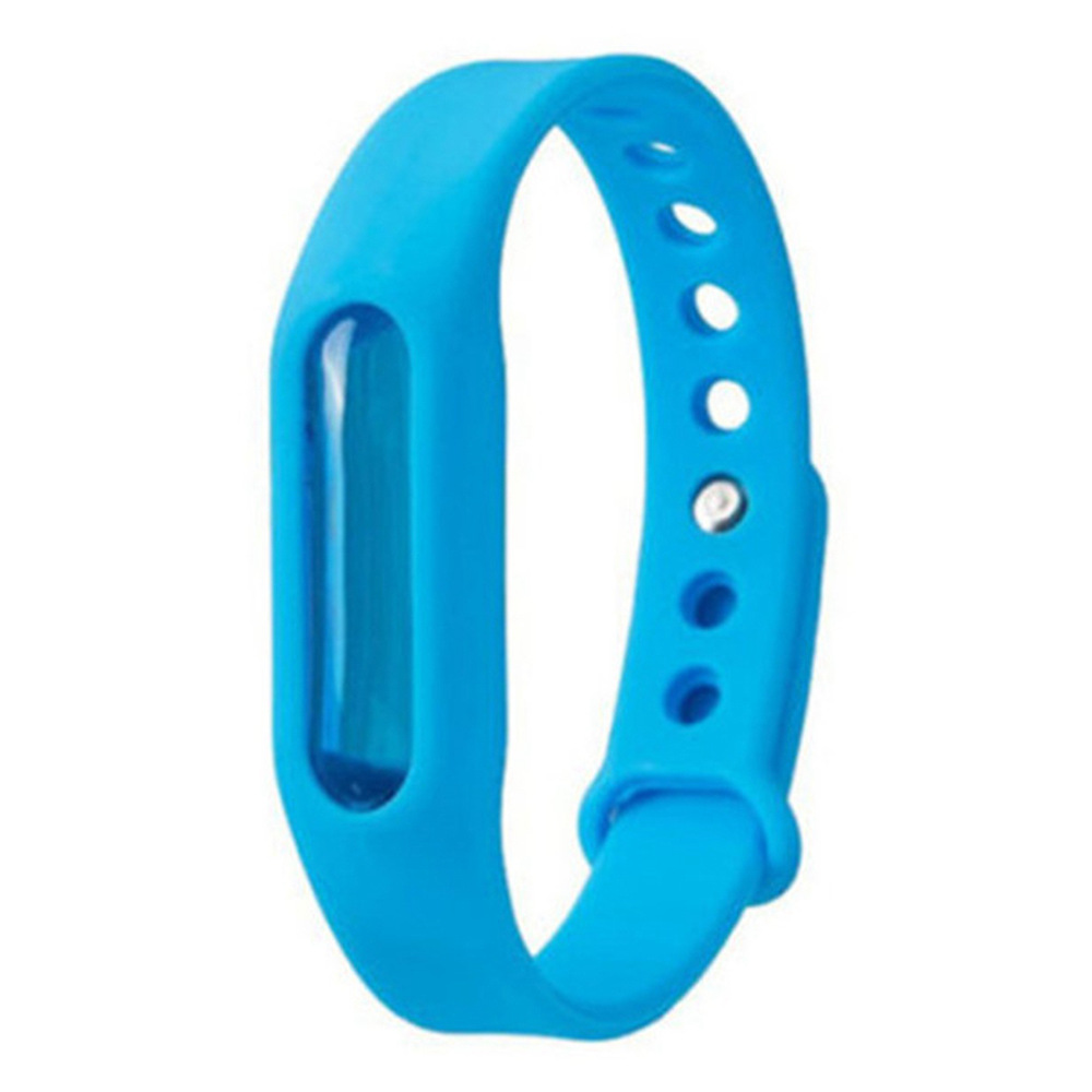 Mosquito Repellent Bracelet Protection Silicone Wristband Environmental Friendly Safe For Kids-Blue
