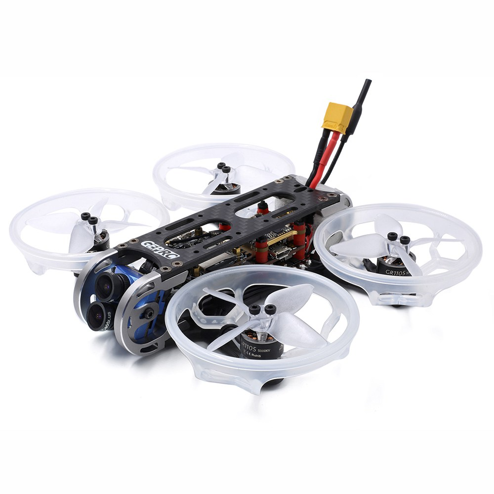 Geprc CinePro 4K FPV Racing Drone With F7 Dual Gyro 2-6S 35A BLheli_32 Caddx Tarsier Dual Lens Cam BNF - Frsky R-XSR