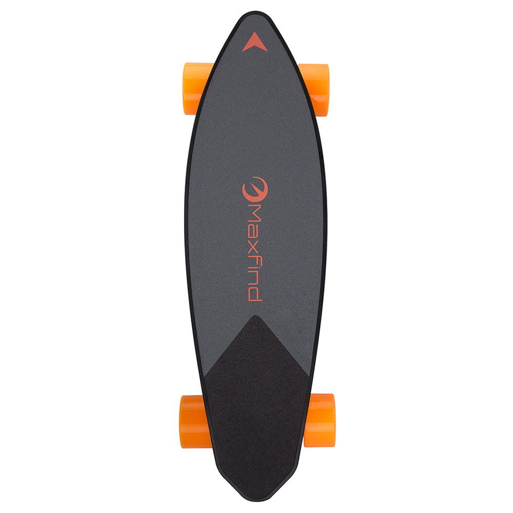 Maxfind Max 2 Electric Skateboard Wireless Remote Control Single Motor Max Range 20km Max Speed 28km/h-Black