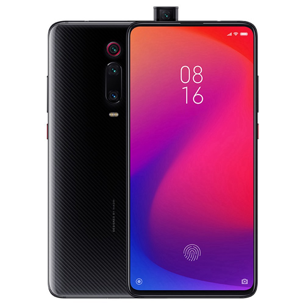 Xiaomi Mi 9T 6.39 Zoll 4G LTE Smartphone Löwenmaul 730 6GB 128GB 48.0MP + 8.0MP + 13.0MP Dreifache Rückfahrkameras MIUI 10 In-Display Fingerprint Fast Charge Global Version - Schwarz