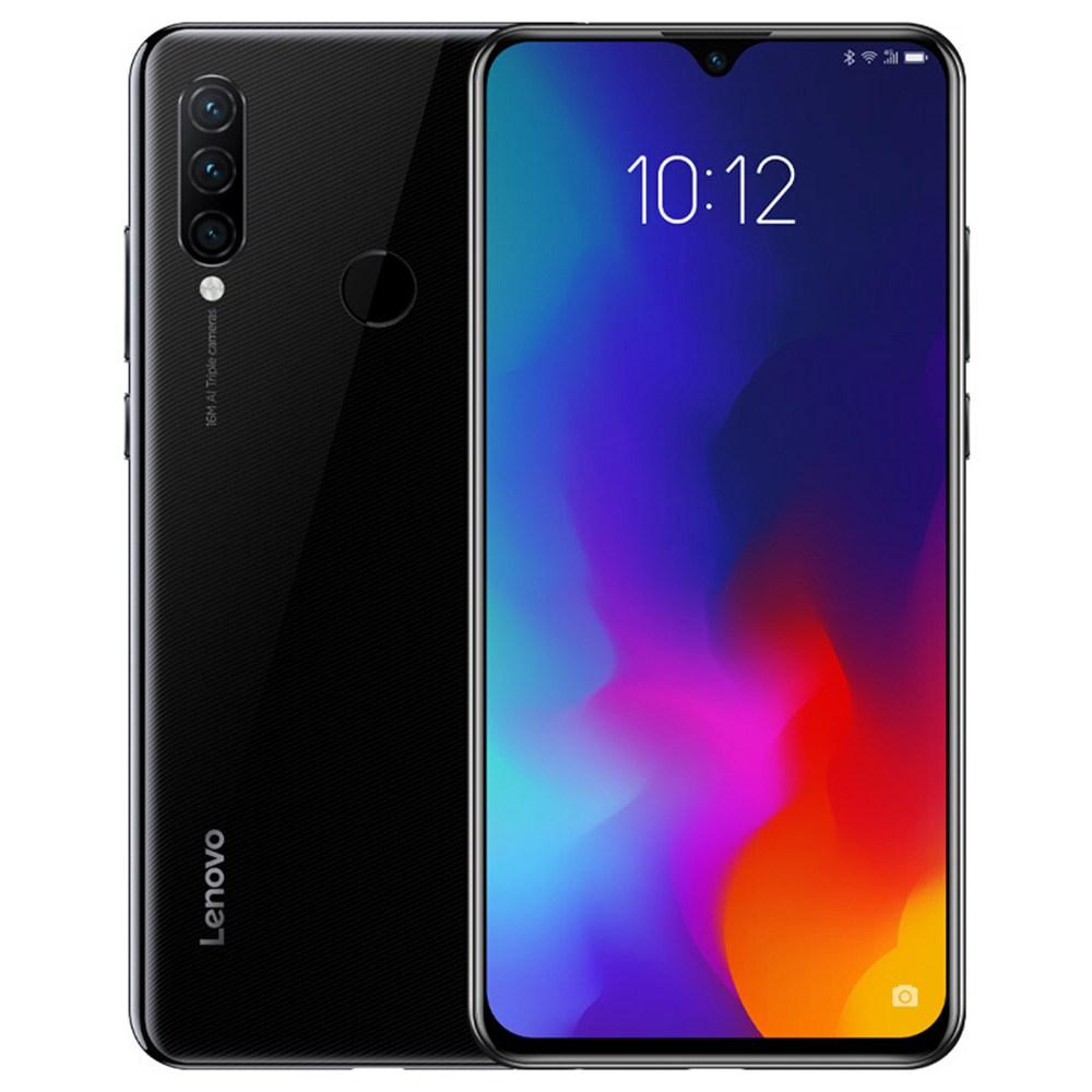 Lenovo Z6 Lite 6.3 Inch 4G LTE Smartphone Snapdragon 710GB 6GB 64GB 16.0MP + 8.0MP Makamera Akumbuyo atatu ZUI 5.0 Touch ID Mwamsanga ROM Global - Black