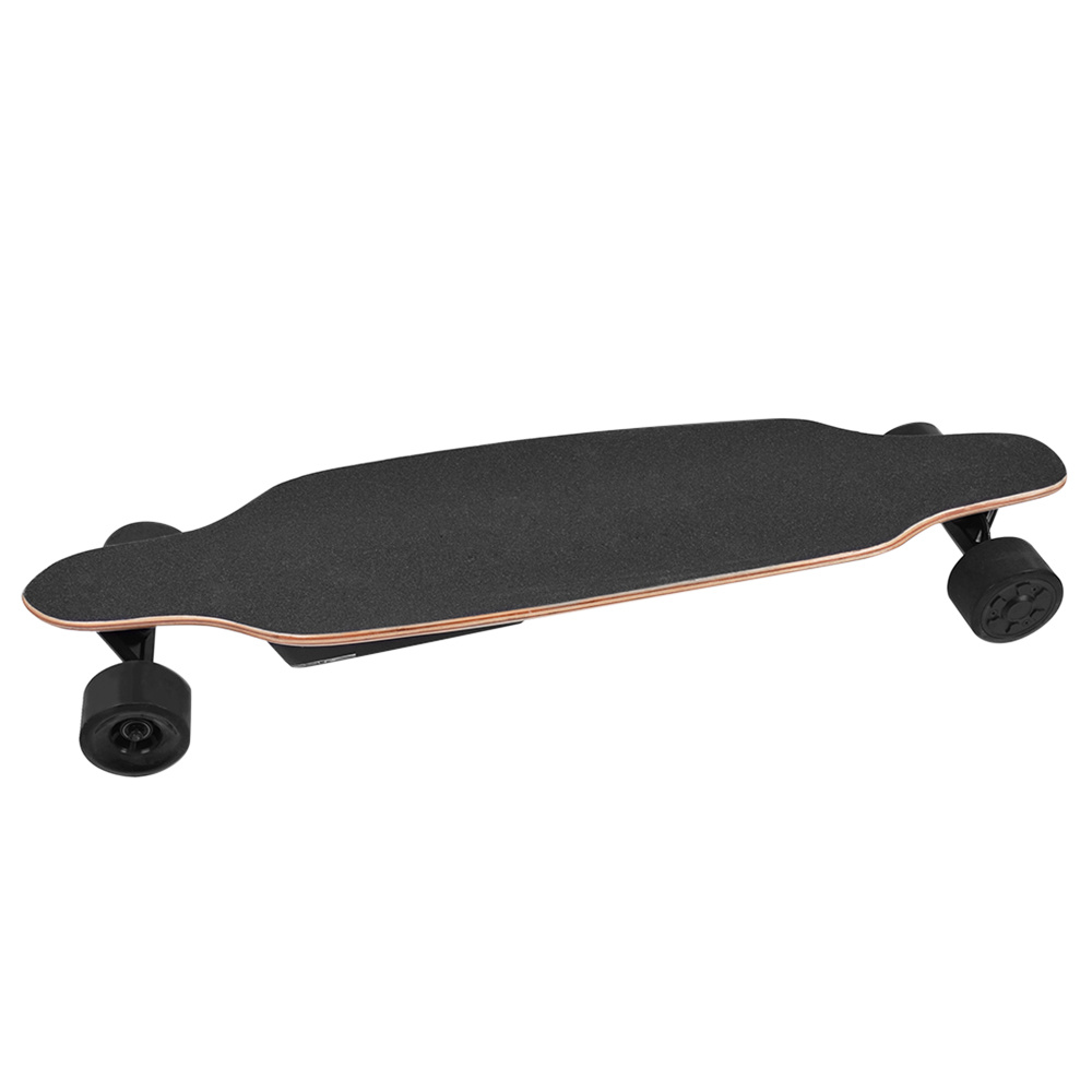 SYL-13 Electric Skateboard Dual 600W Motors 5200mAh Battery Max Speed 40km/h With Remote Control - Black