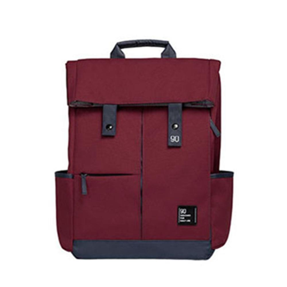 Xiaomi 90fun College Leisure Backpack 13L Large Capacity Unisex Computer Bag - Red