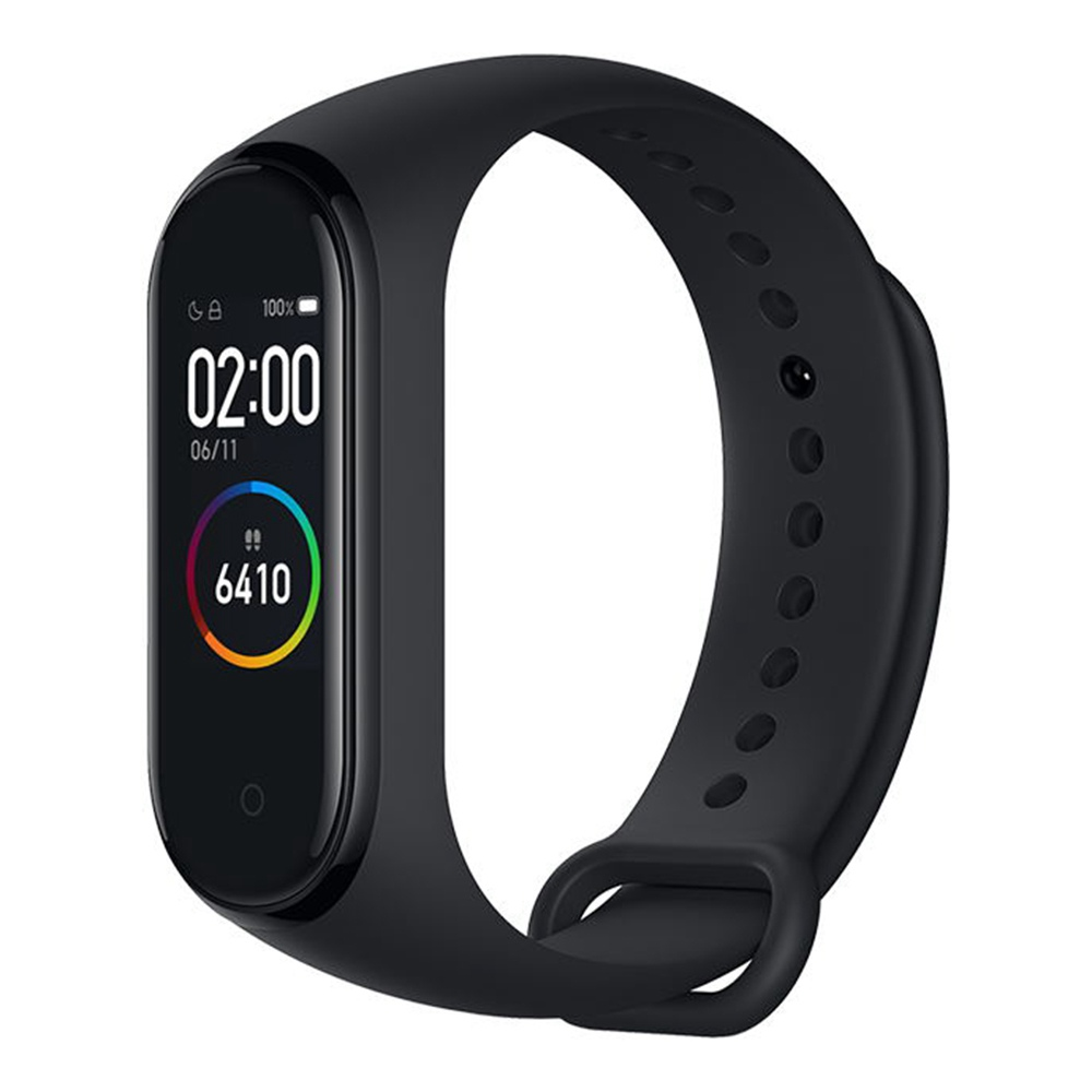 Xiaomi Mi Band 4 Smart Bracelet 0.95 Inch AMOLED Schermo a colori Multifunzione integrato Monitor battito cardiaco 5ATM Water Resistant 20 Days Standby NFC Version - Nero