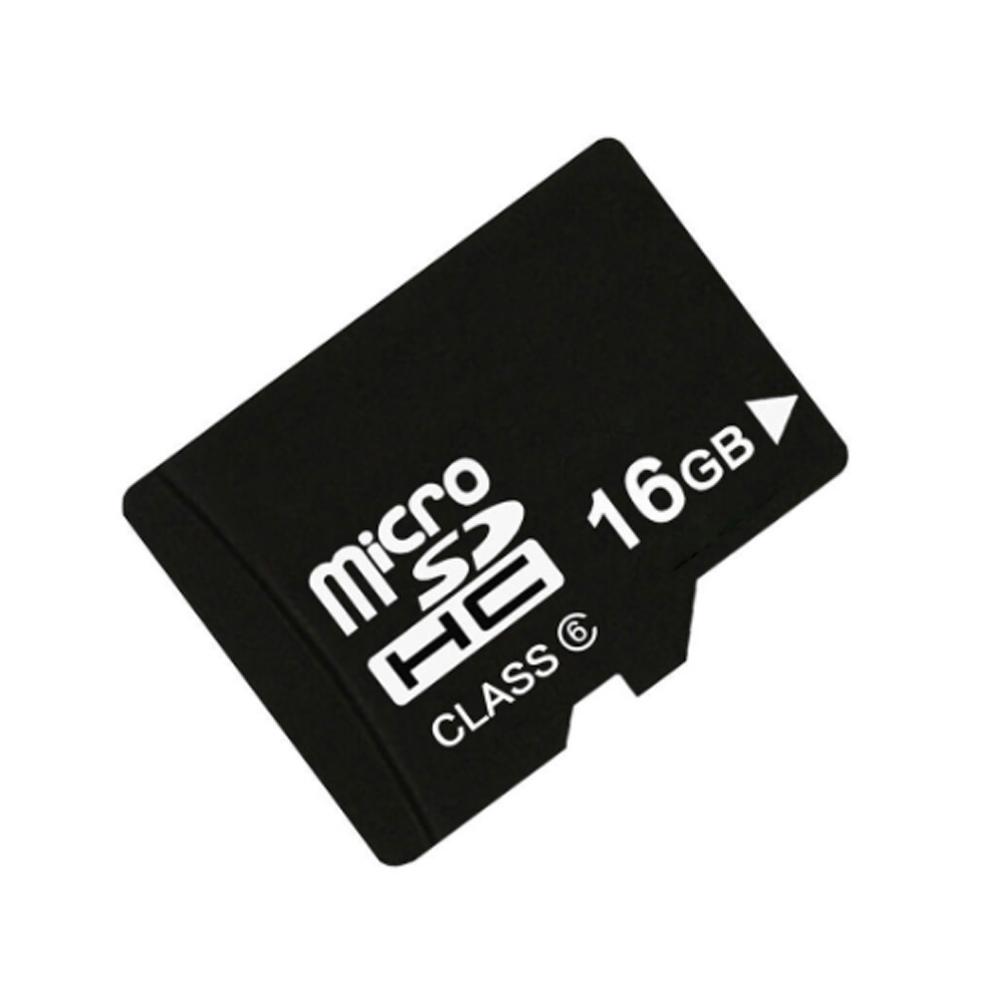 TF kártya 16GB 15MB / s 6MB / s Class6 - Fekete