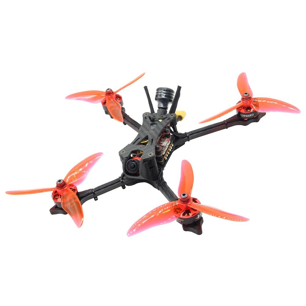 HGLRC Wind5 233mm 5inch 6S FPV Racing RC Drone F7 OSD 60A BLHeli_32 ESC con telecamera Caddx Ratel BNF-Flysky A8S Ricevitore V2