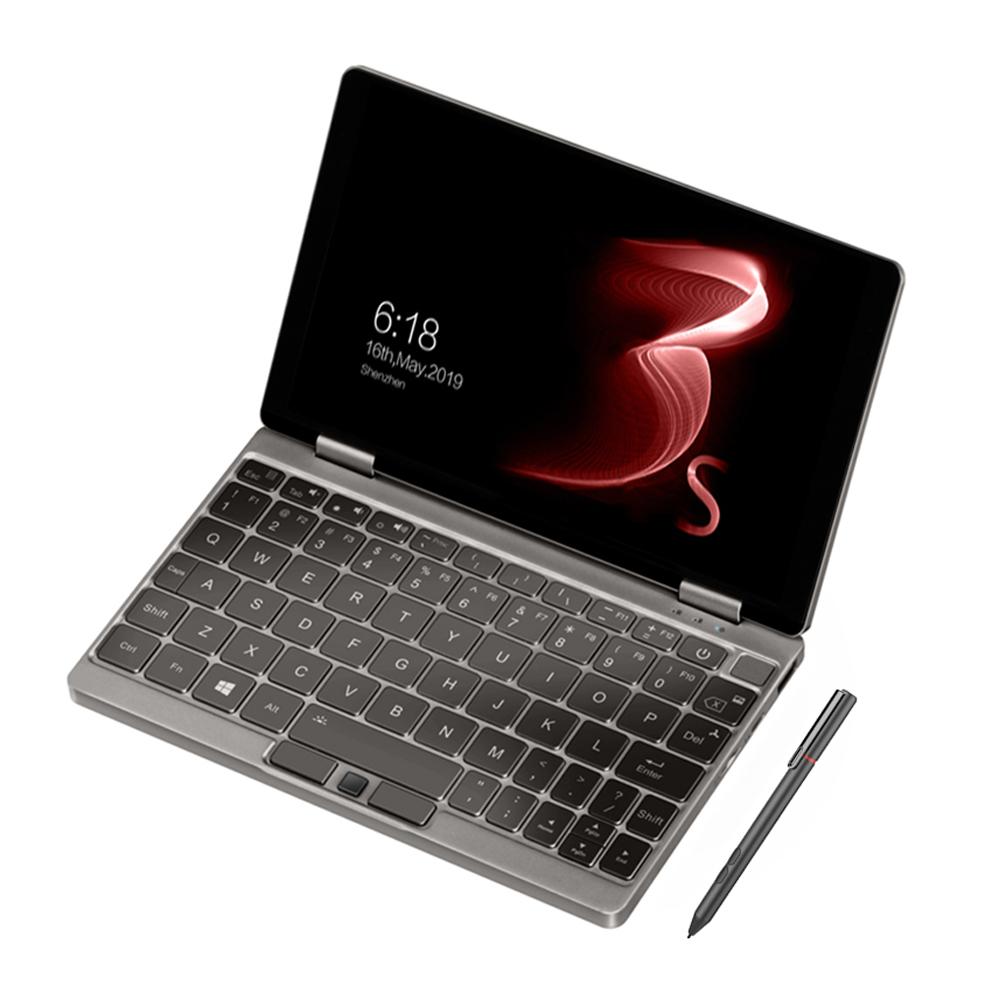 One Netbook One Mix 3S Yoga Pocket Laptop Intel Core i7-8500Y Dual Core Touch ID (Platinum) + Original Stylus Pen (Platinum)