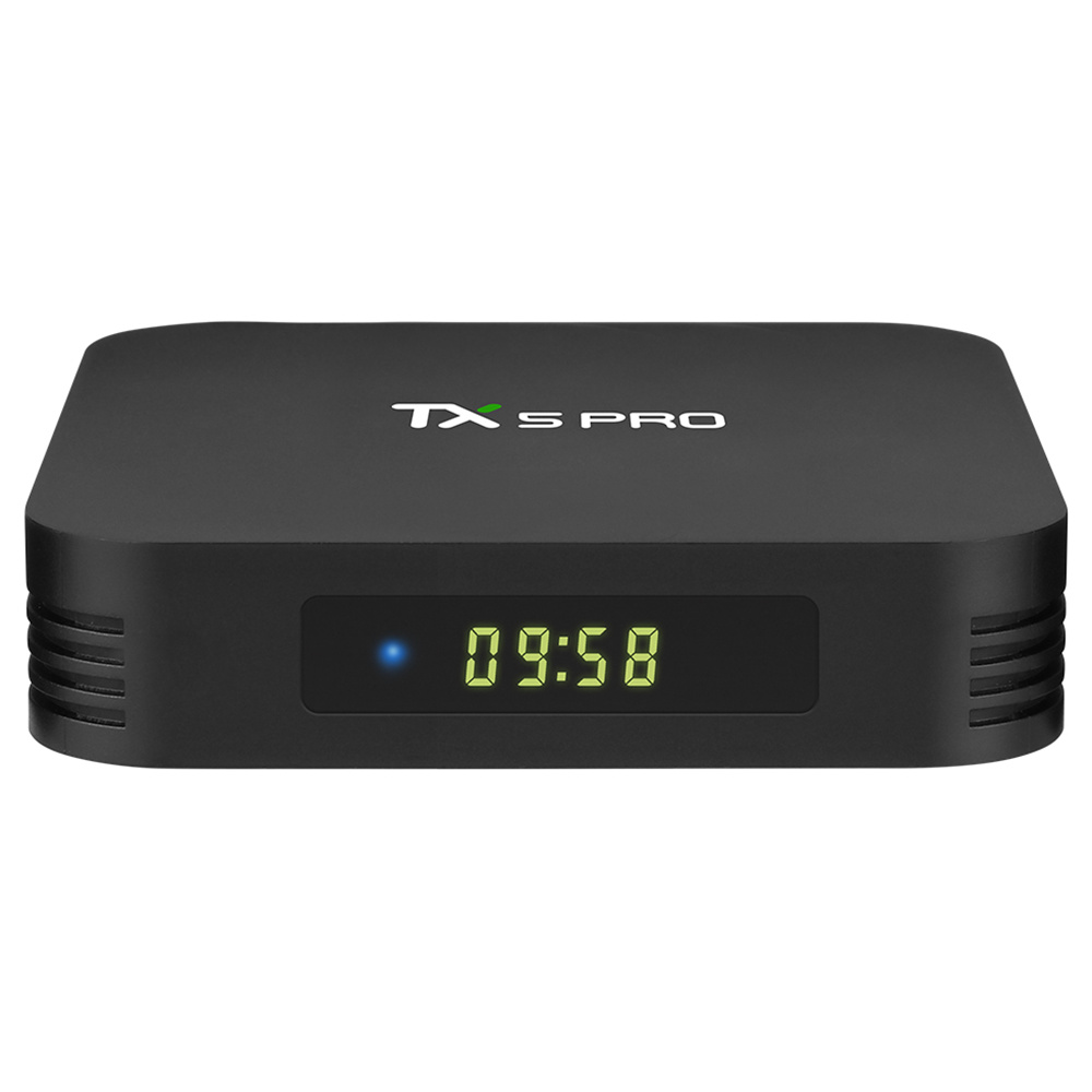 Tanix TX5 Pro Amlogic S905X2 Android 8.1 4GB/32GB TV Box 2.4GHz + 5GHz WiFi Bluetooth 4.1 Support 4K H.265 Media Player - Black