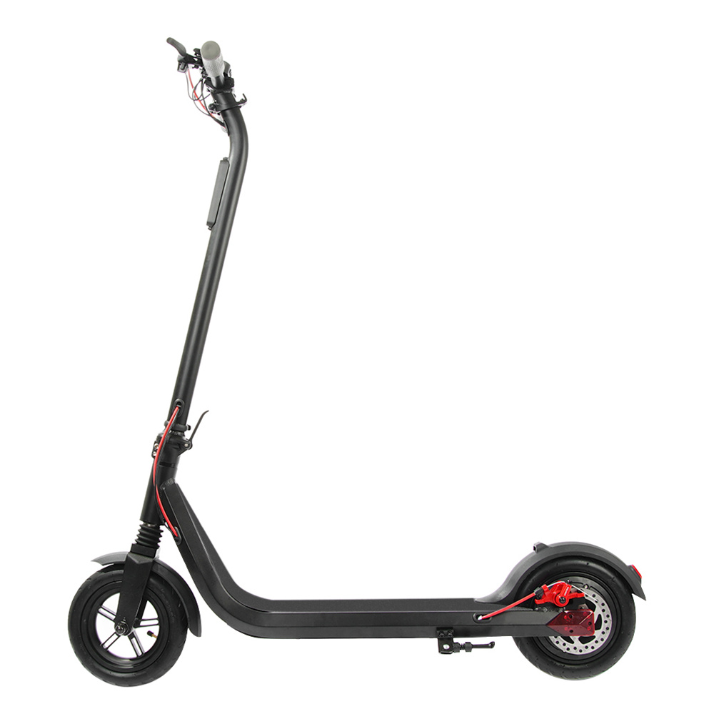 SYL L8-4 Portable Folding Electric Scooter 350W Motor Max Speed 25km/h 6.6Ah Battery 8.5 Inch Tire - Black
