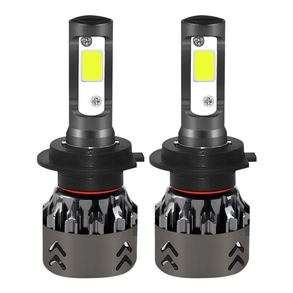 Mini 6-H7 Lampadina per fari LED per auto 60W IP68 6000K 6000 Lumen Kit per conversione di chip estremamente luminosi