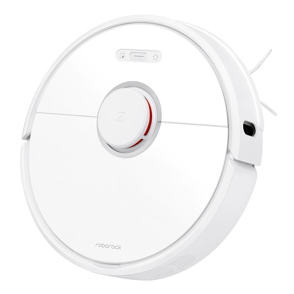 Roborock S6 Robot Vacuum Cleaner APP Virtual Wall 2000Pa Suction LDS Lidar Scanning 5200mAh Global Version - White