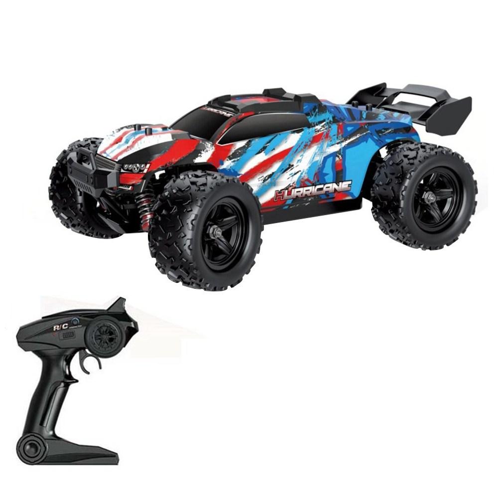 HS18321 2.4G 4WD 1 / 18 Scala ad alta velocità Monster Truck RC Car RTR regalo giocattolo per bambini - Rosso