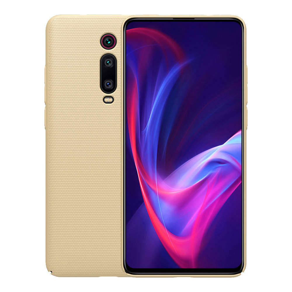 NILLKIN Matte Hard Phone Case for Xiaomi Redmi K20 / K20 Pro Protective Back Cover - Gold фото