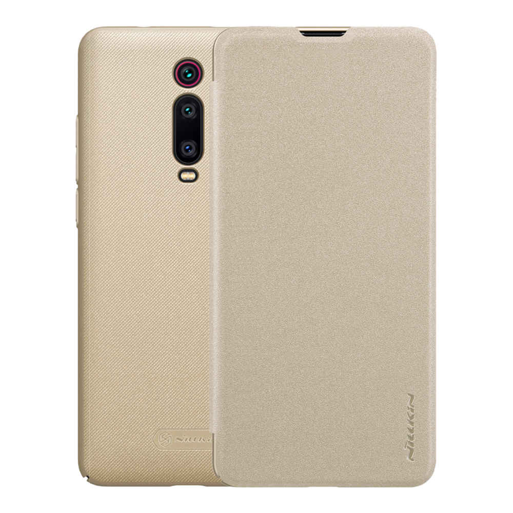 Nillkin PU Leather Case For Xiaomi Redmi K20 K20 Pro Gold
