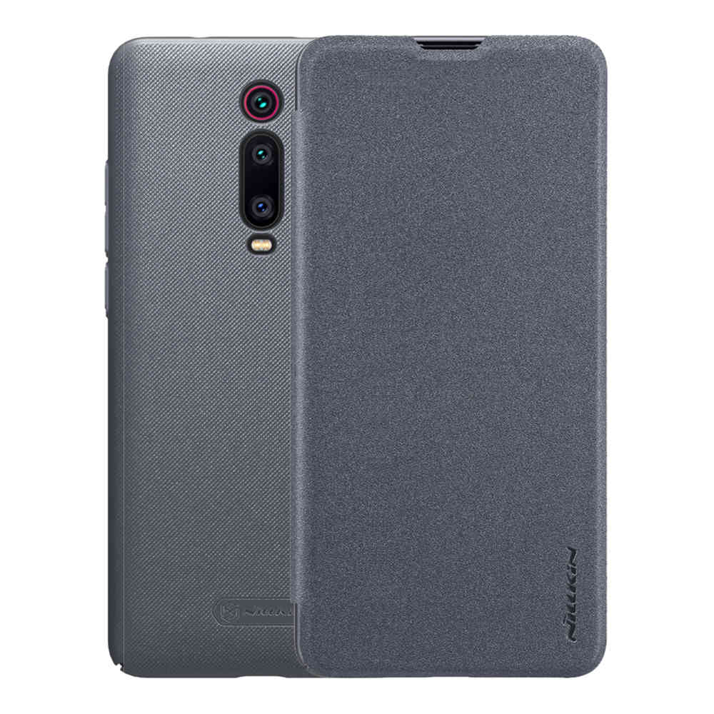 Nillkin Modern PU Leather Case Protective Back Cover For Xiaomi Redmi K20 & K20 Pro - Gray