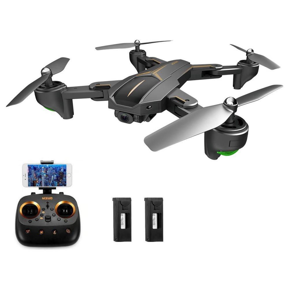 VISUO XS812 GPS 5G WiFi 5MP FPV RC Quadcopter 5MP HD kamerával 15mins Repülési idő RTF - Három elem