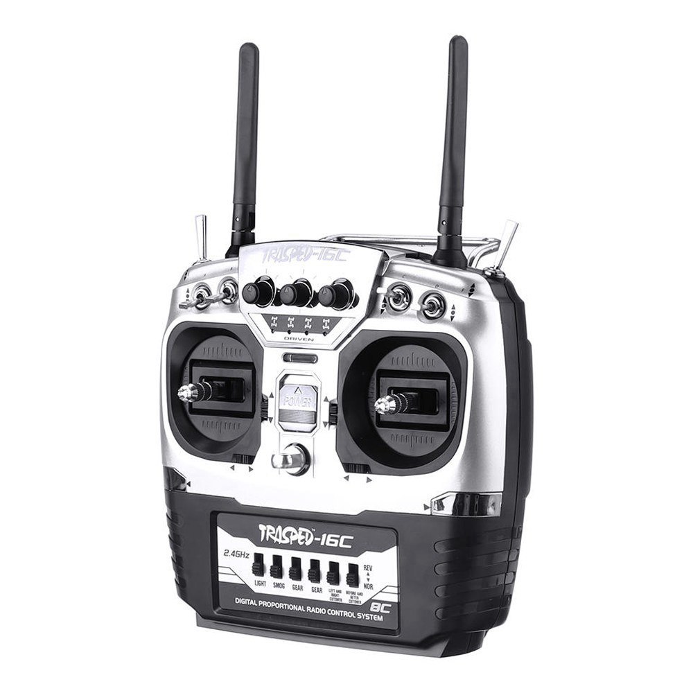 HG YK003 2.4G 8CH Dual Antenna Climbing RC Car Radio Remote Control With Receiver For HG P407 P801 P802