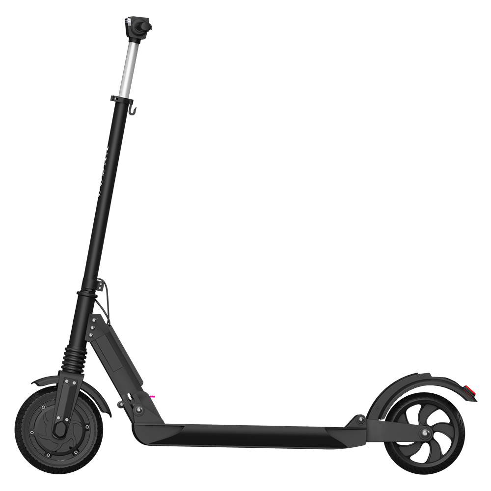 KUGOO S1 Folding Electric Scooter 350W Motor LCD Display Screen 3 Speed Modes Max 25km/h - Black