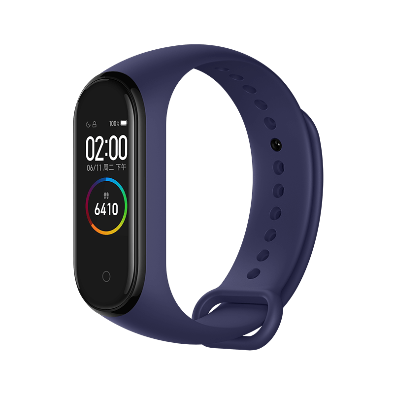 Xiaomi Mi Band 4 Smart Bracelet 0.95 Inch AMOLED Color Screen Built-in Multifunction Heart Rate Monitor 5ATM Water Resistant 20 Days Standby - Blue