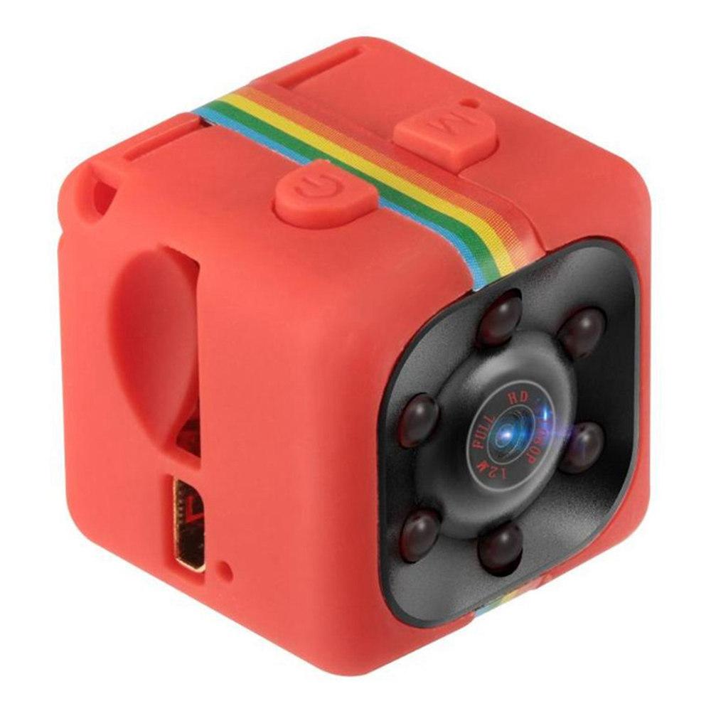 Quelima SQ11 Mini DV Kamera HD 1080P Night Vision Szerokokątny rejestrator ruchu DV - czerwony