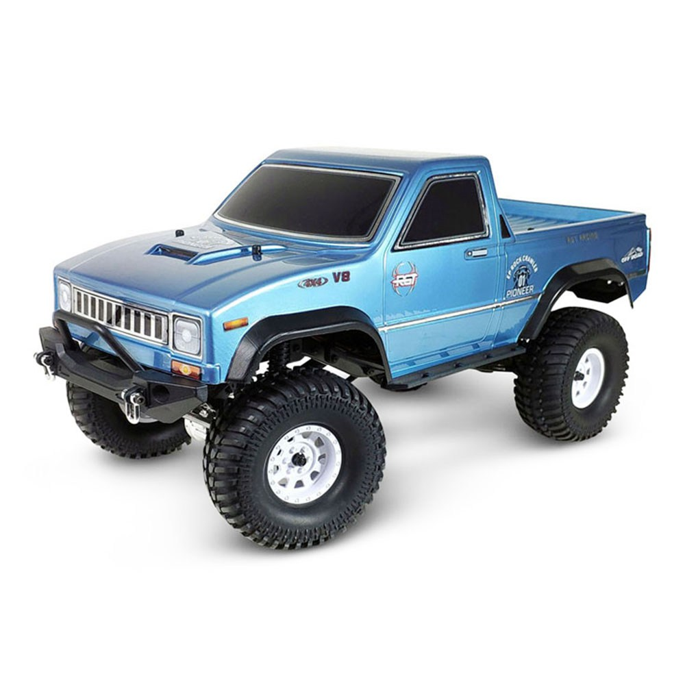 RGT Pioneer EX86110 1/10 2.4G 4WD Brushed Waterproof Off-road Climbing Rock Crawler Truck RC Car RTR - Blue