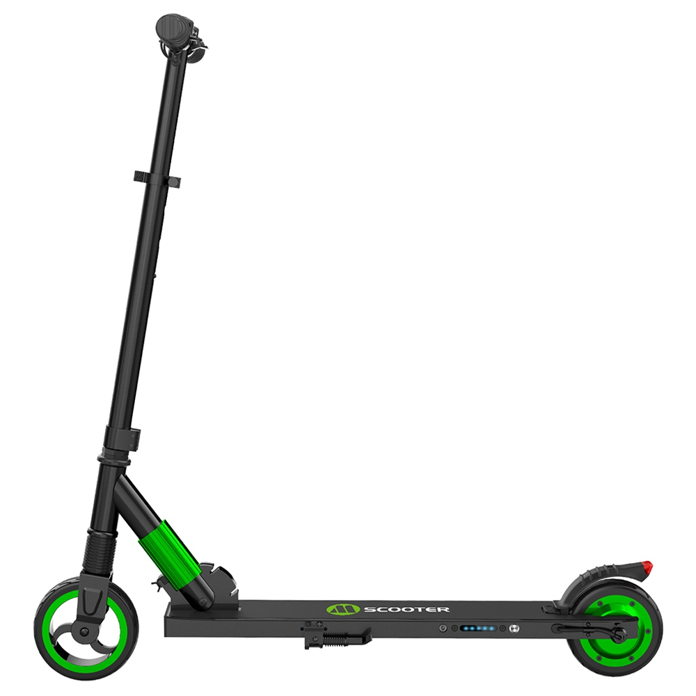 Megawheels S1-3 Portable Folding Electric Scooter 250W Motor Max Speed 23km/h 5.0Ah Battery -  Green