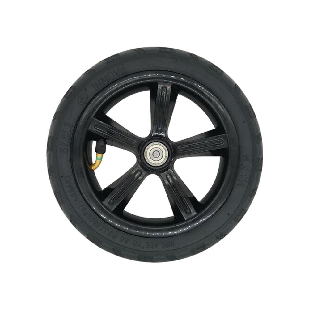 Neumático trasero neumático para KUGOO S1 incluyendo buje - Negro