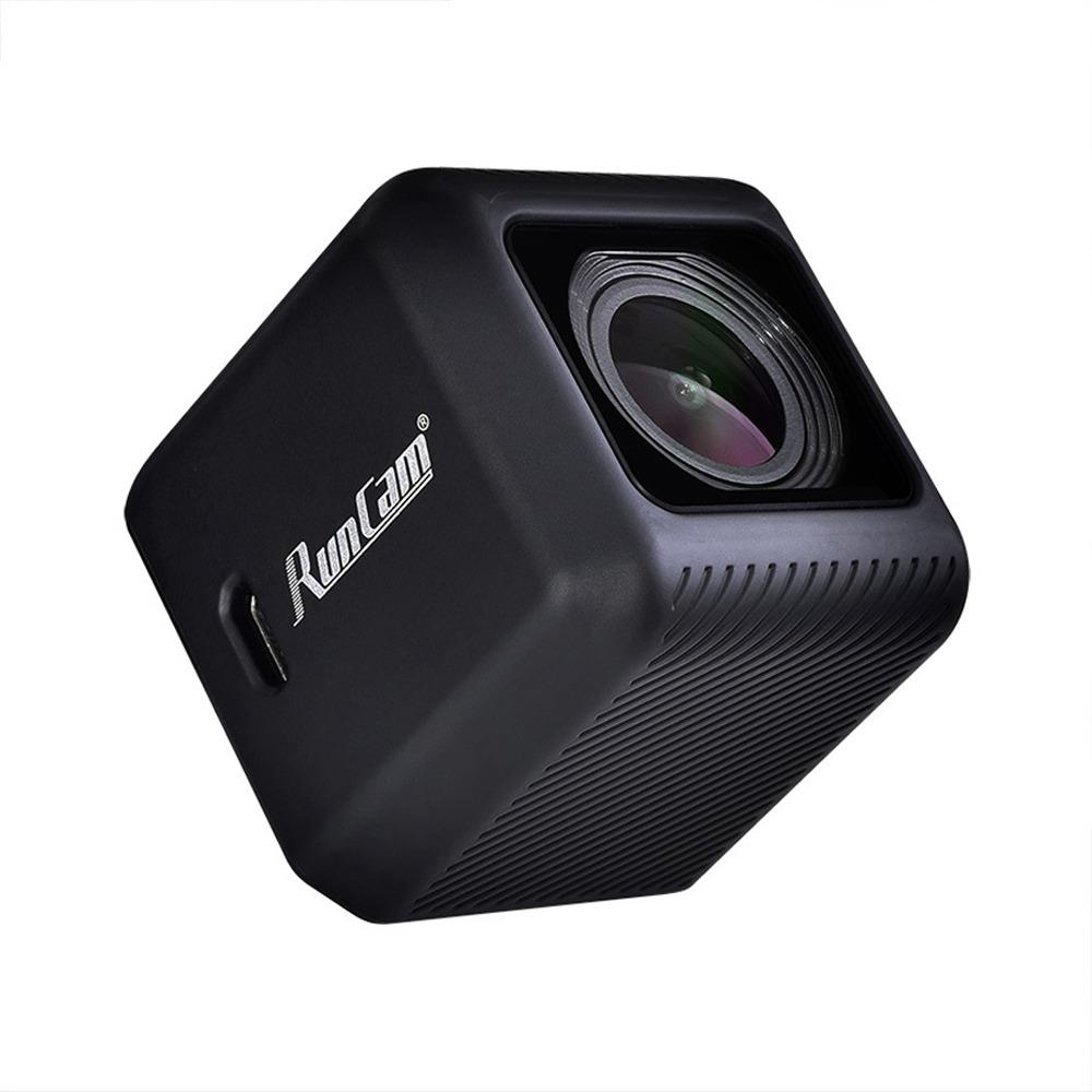 Runcam 5 4K 50fps 12MP SONY IMX377 Sensor FOV 145 FPV Action Camera With SuperView Function - Black