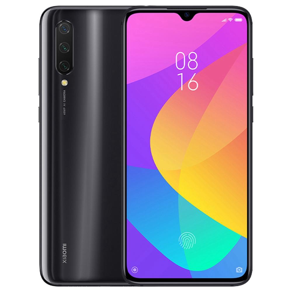 A Xiaomi Mi CC9 CN 6.39 hüvelykes FHD + képernyő 4G LTE okostelefon Snapdragon 710 6 GB 128 GB 48.0MP + 8.0MP + 2.0MP három hátsó kamera MIUI 10 - fekete