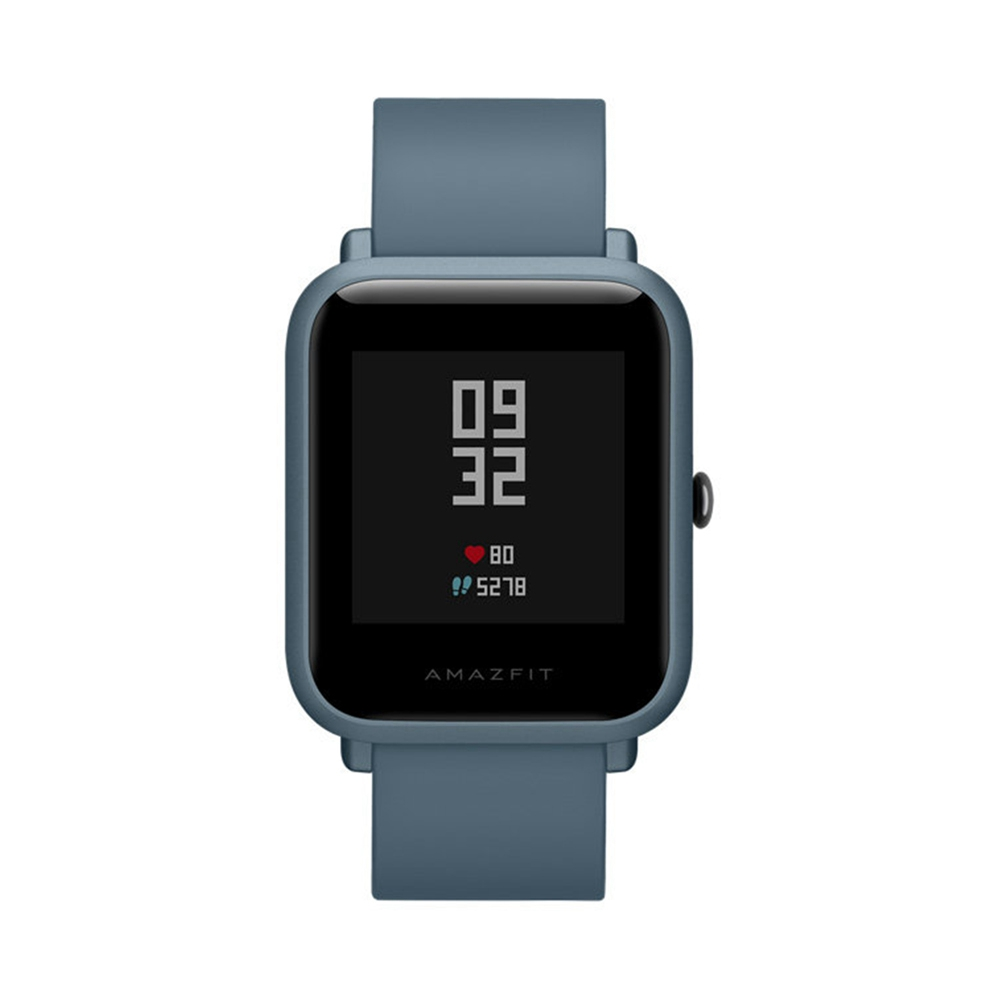 Huami Amazfit Bip Lite Smart Sports Watch 3ATM Water Resistant 45 Days Standby 1.28 Inch Touch Screen Bluetooth 4.1 رصد معدل ضربات القلب - أزرق