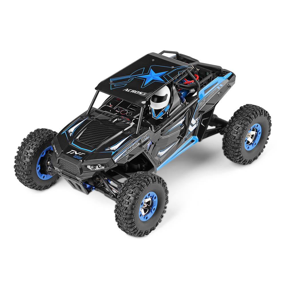 Wltoys 12428-B STORM 1/12 2.4G 4WD High-speed 50km/h Electric Off-road Truck RC Car With LED Light RTR