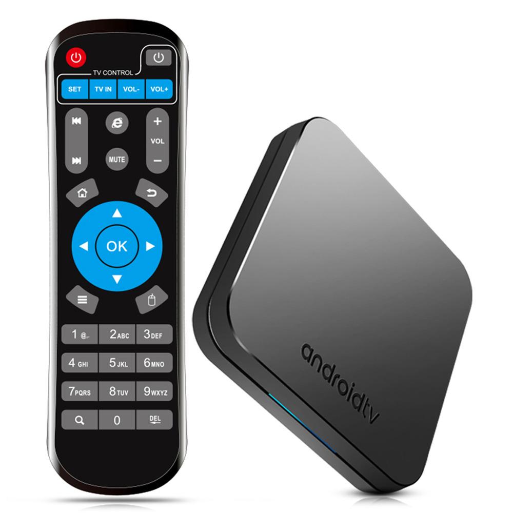 MECOOL KM9 Amlogic S905X2 Android 9.0 4GB DDR4 32GB eMMC 4K TV Box Dual Band WiFi Bluetooth LAN USB3.0 KODI 17.6