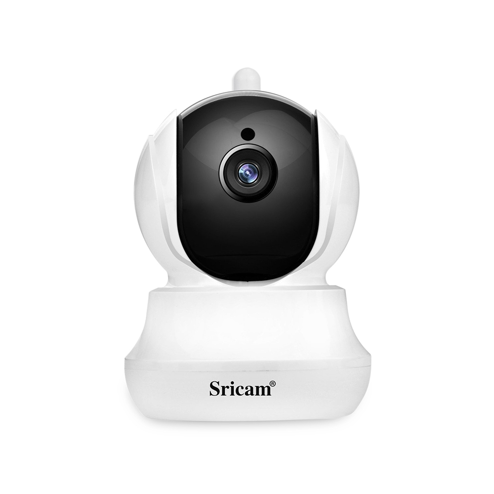 Sricam SP020 720P WiFi IP Camera H.264 CMOS Two-way Audio Night Vision Motion Detection Security Camera - White