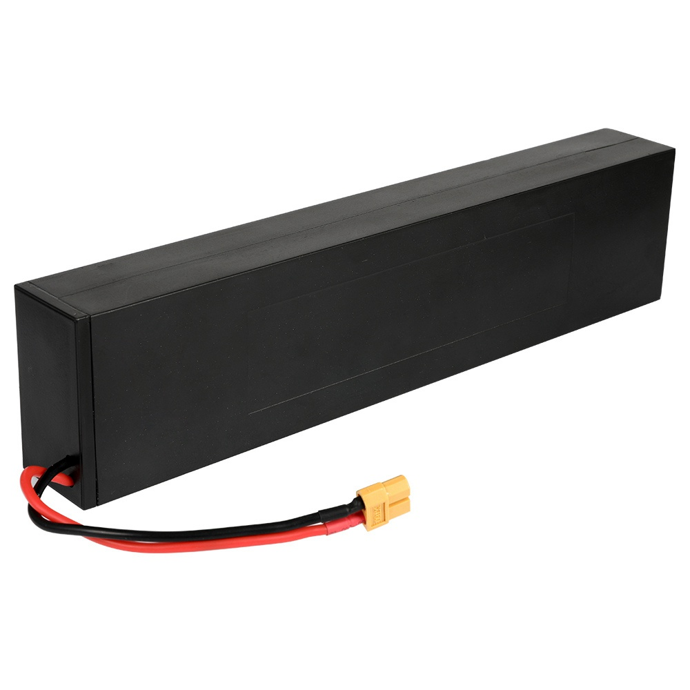 Replacement Li Battery 36V/7.5Ah For KUGOO S1 and S1 PRO Folding Electric Scooter - Black
