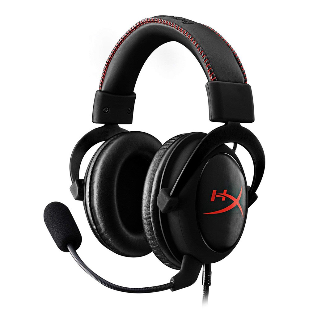 Kingston HyperX Cloud Core Gaming Headset 53MM Drivers Detachable Microphone  - Red