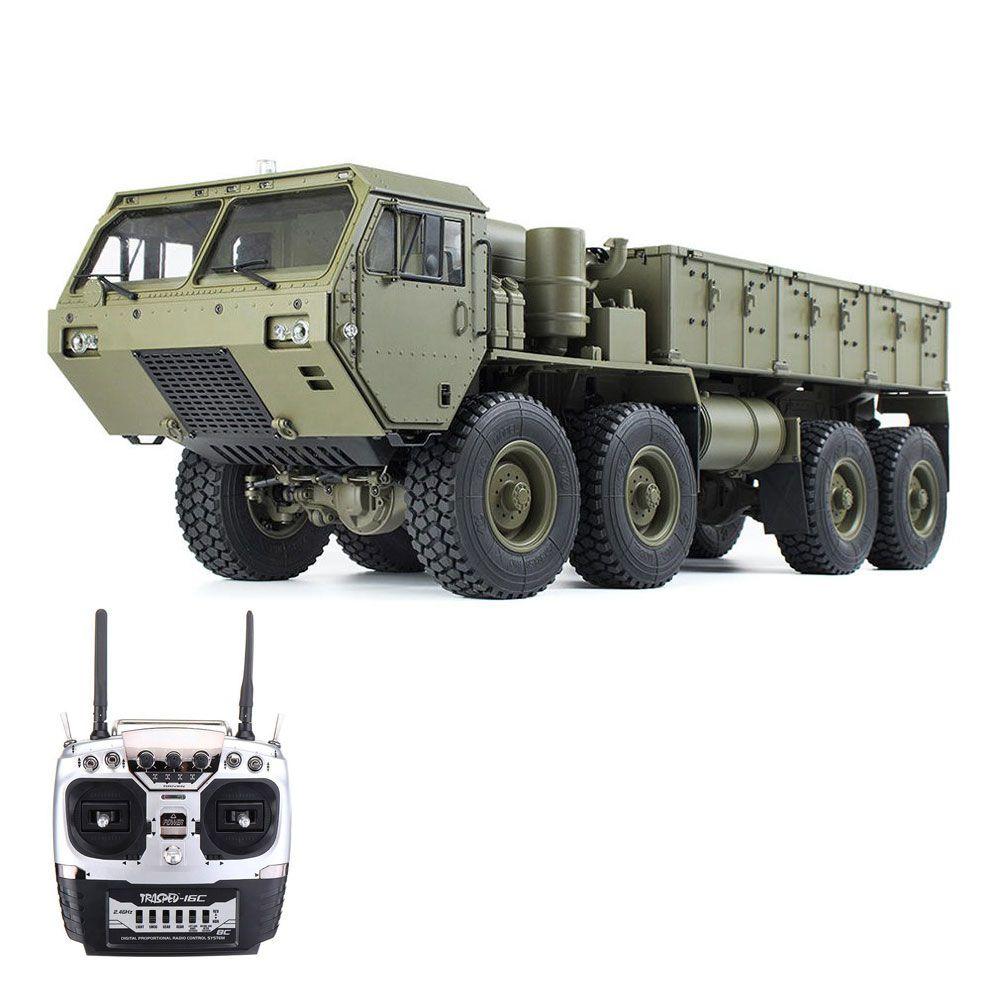 HG HG-P801 M983 Light Sound Funzione Versione 2.4G 8CH 1: 12 8x8 Auto militare per camion US Army RC senza caricabatterie