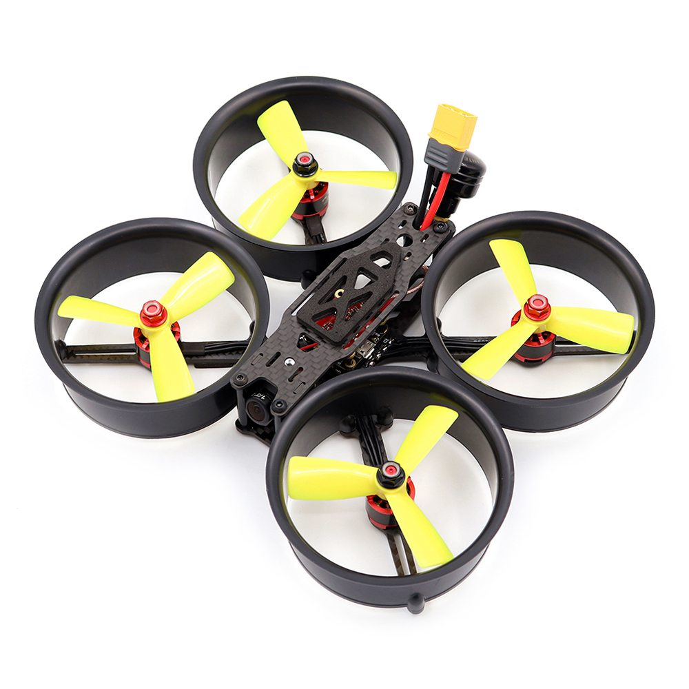 Rettile Cloud-149 149mm 3 Pollici Divisione tipo X FPV Racing Drone RC MINI F4 20A 4IN1 ESC 5.8G 40CH 500mW VTX PNP - Nero
