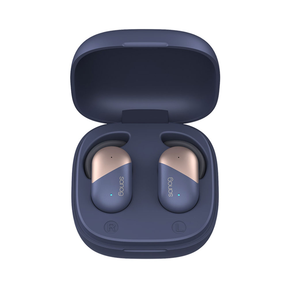 Sanag P5 Fingerprint Touch Bluetooth 5.0 TWS Earphones IPX56 Binaural Call Siri Google Assistant 500mAh Charging Case фото