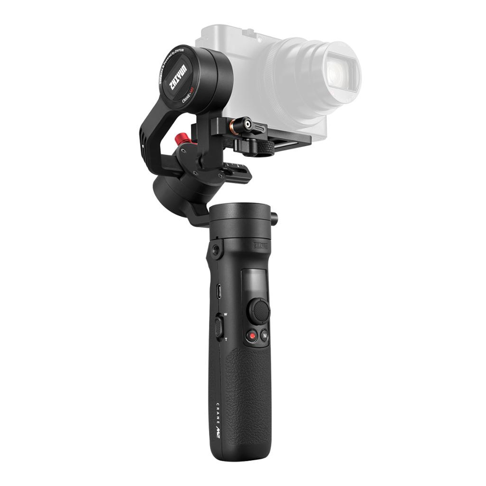 Zhiyun Crane M2 Small Body 3-Axis Handheld Stabilizer Gimbal For Smartphone Light Mirrorless Action Camera