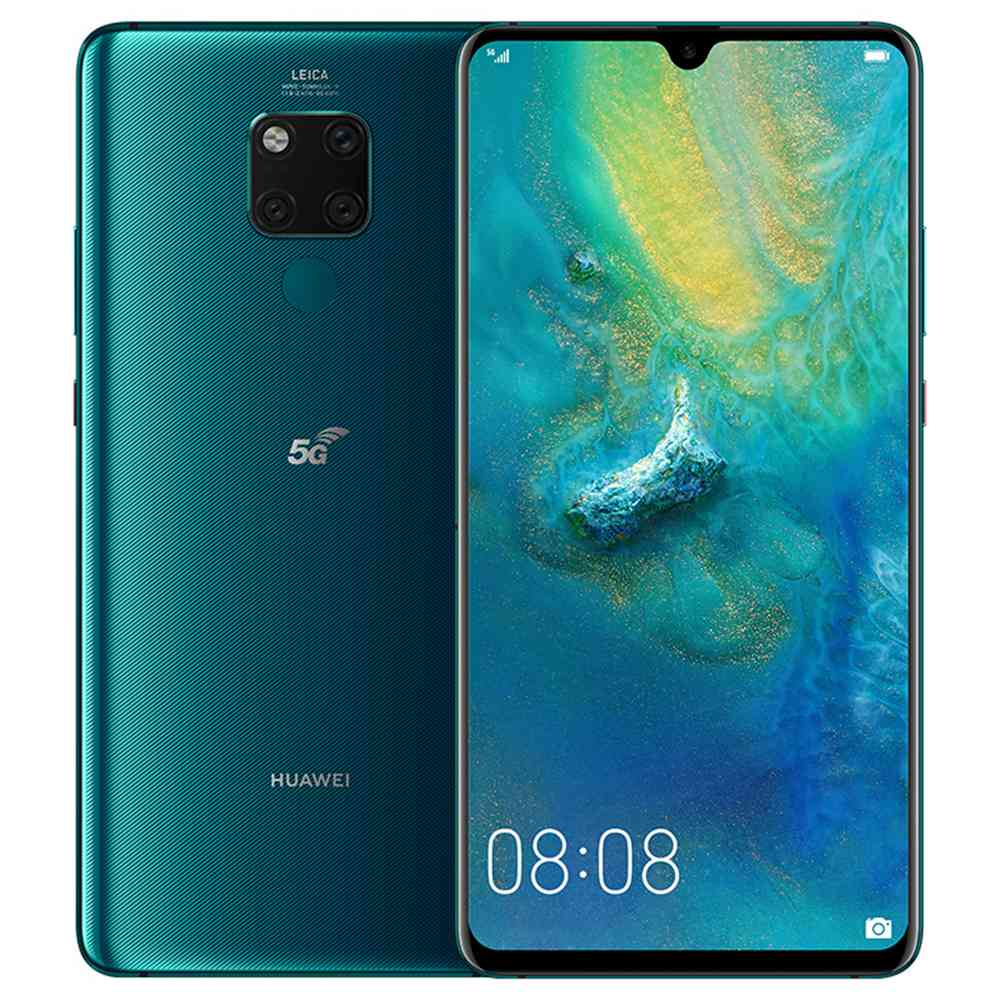 "HUAWEI Mate 20X CN Version 5G Smartphone 7.2"" Ultra Large OLED Display Kirin 980+Balong 5000 8GB 256GB 40.0MP Leica Triple Cameras 4200mAh Battery 40W Supercharge - Emerald Green"