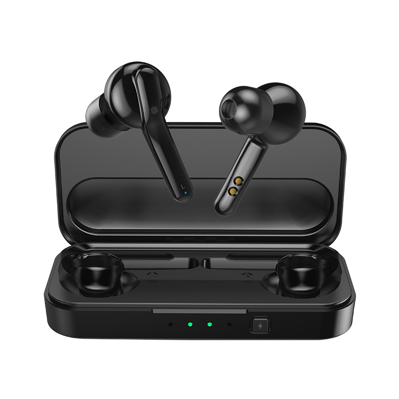 MIFA X3 Bluetooth 5.0 TWS Earbuds Binaural Call 3D Stereo Sound 450mAh Charging Box Touch Control with Micro - Black