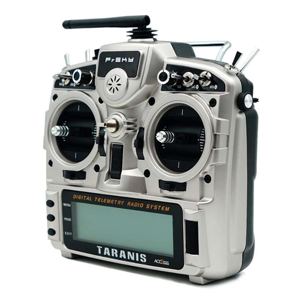 Mode 2 Frsky Taranis X9D Plus 2019 2.4G 24CH OpenTX System ACCESS Protocol Radio Transmitter With G9D Gimbal FPV Racing Drone - Silver