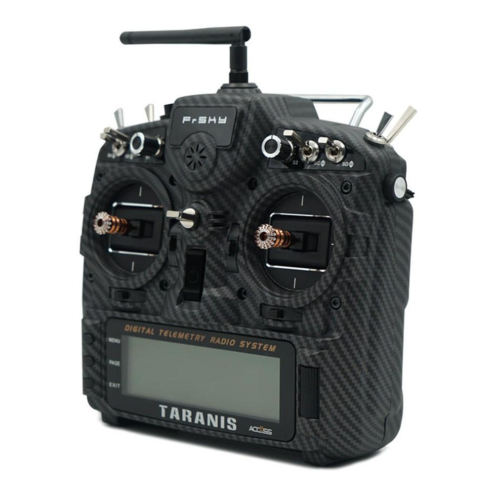 Mode 2 Frsky Taranis X9D Plus SE 2019 2.4G 24CH OpenTX System ACCESS Protocol Radio Transmitter With G9D Potentiometer Gimbal M9 Hall Sensor Rocker - Carbon Fiber