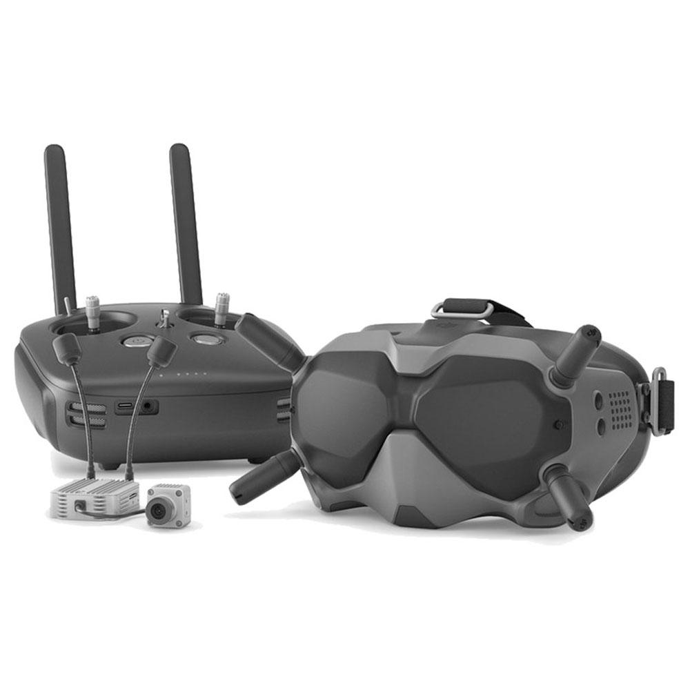 DJI ดิจิตอล FPV ระบบ 4KM ช่วงส่งสัญญาณ 720P * 120fps FPV แว่นตาวิดีโอ 5.8G 8CH หน่วยอากาศ 1080P Cam สำหรับแข่งจมูก