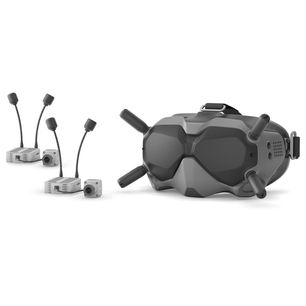 DJI Digital FPV-System 720P @ 120fps FPV-Videobrille 5.8G 8CH Senderlufteinheit HD 1080P @ 60fps Cam Für Racing Drone
