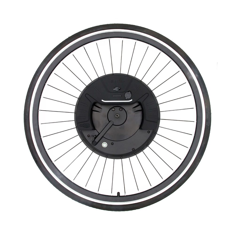 iMortor3 Permanent Magnet DC Motor Bicycle 700C Wheel With App Control Adjustable Speed Mode - EU Plug