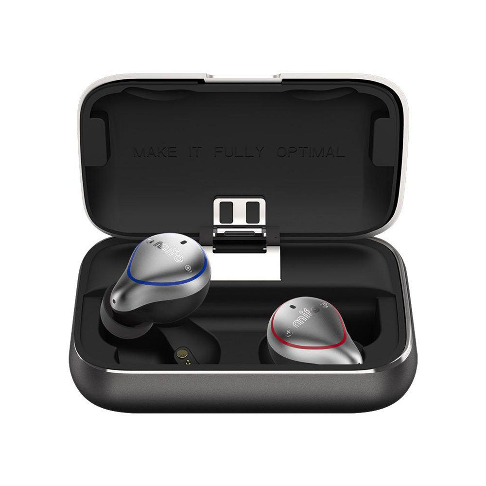 Mifo O5 Bluetooth 5.0 Balanced Armature TWS Earbuds AAC/SBC IPX7 2600mAh Use Independently - Professional Edition
