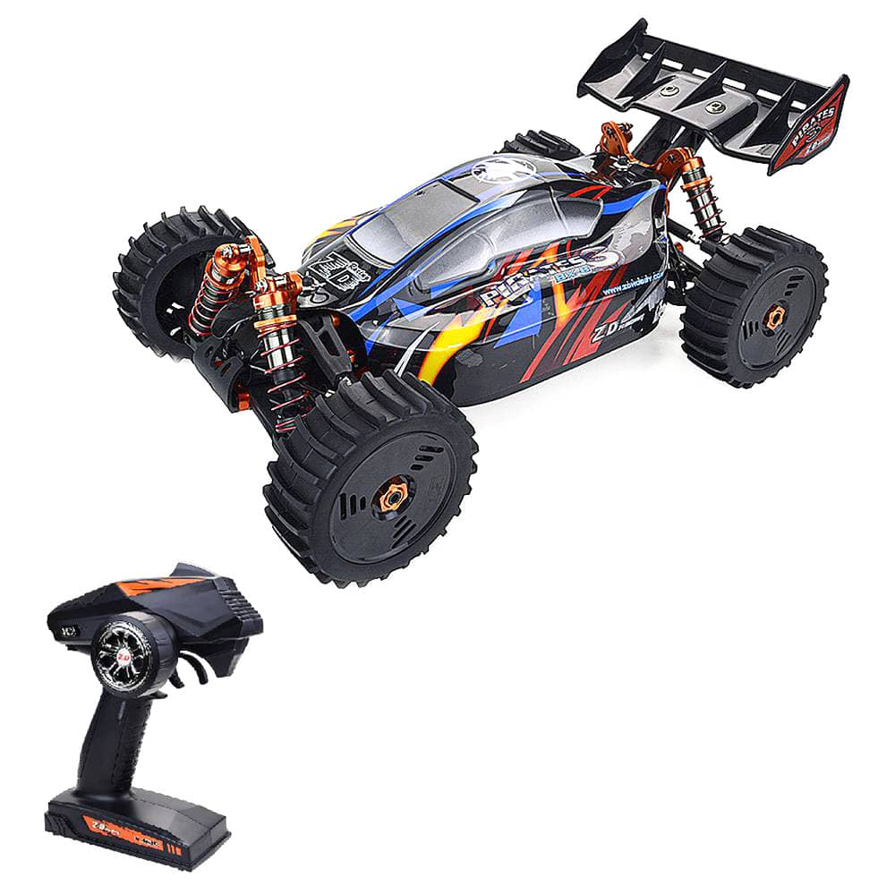 ZD Racing Pirates 3 BX-8E 1/8 2.4G 4WD Brushless Electric Off-road Buggy RC Car With Extra Car Shell RTR - Black фото