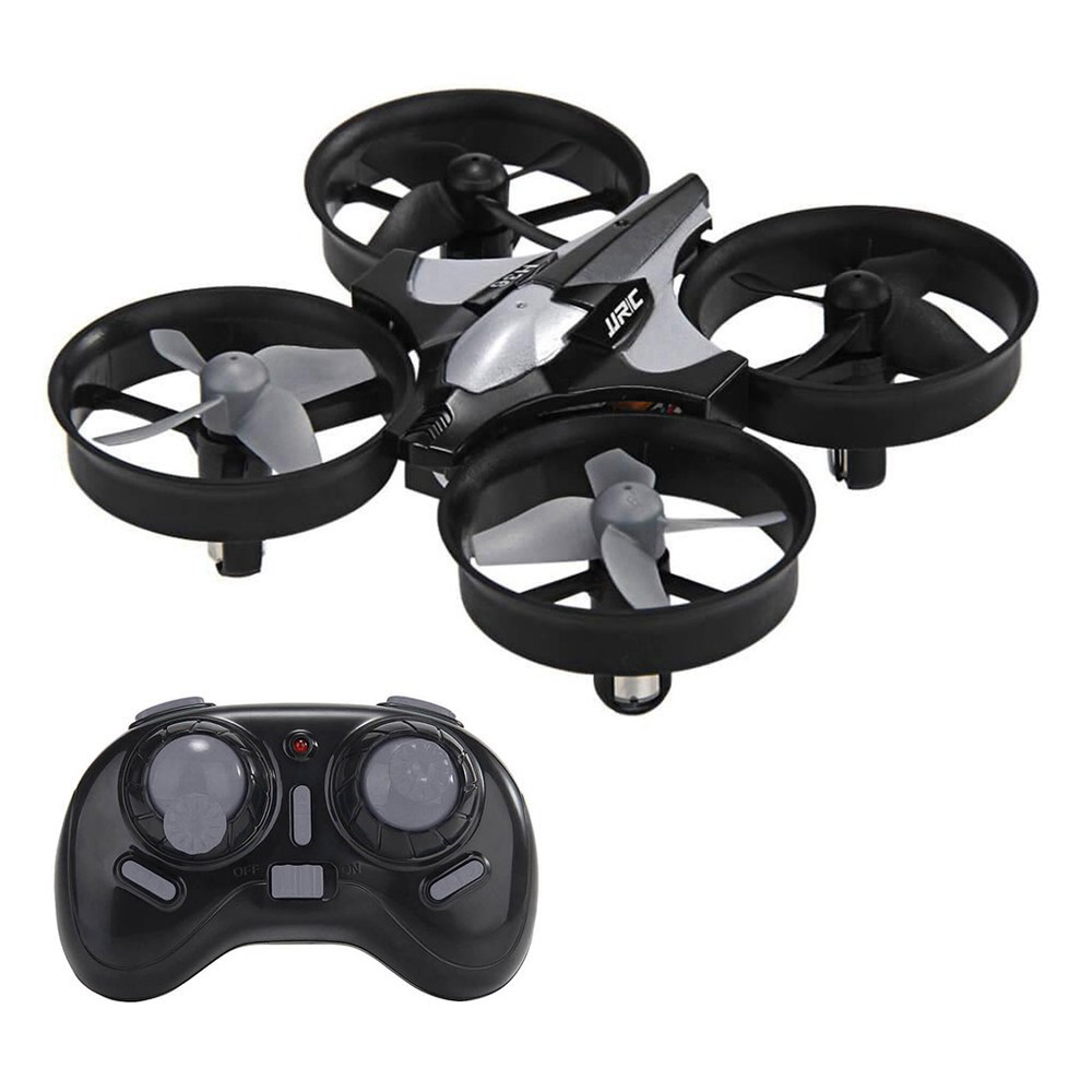 JJRC H36  2.4G 4CH 6Axis Gyro Headless Mode RC Quadcopter RTF Dark Gray - Three Batteries
